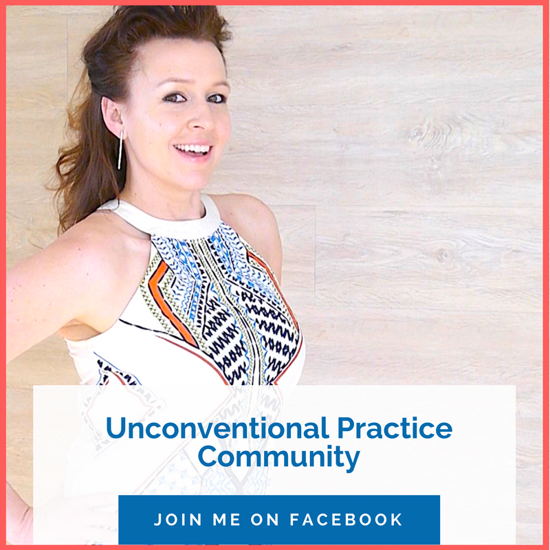 Here's How I Can Help - Unconventional Practice Community - Join Me on Facebook