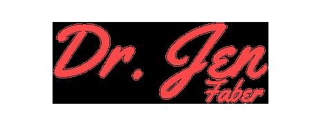 Dr. Jen Faber - Logo 2018 - Coral